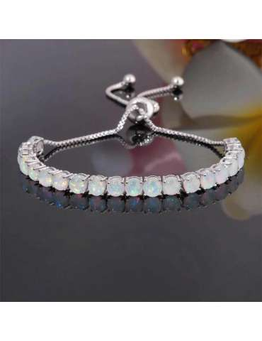white-opal-silver-bracelet-for-women-in-boho-style-hb013