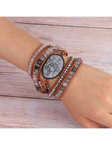 drusy-grey-crystal-beaded-bracelet-chb039