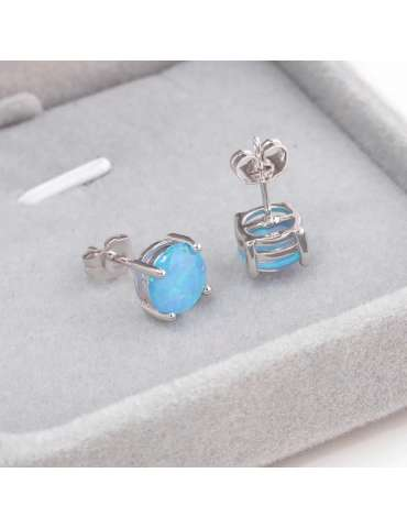 blue-opal-earrings-large-stone-healing-jewelry-gemstone-display-grey-box-hihoney-HE017