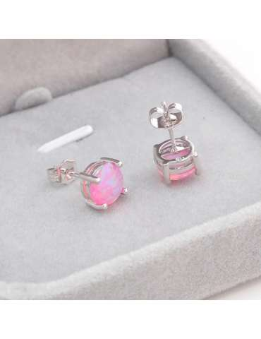 pink-opal-earrings-healing-jewelry-gemstone-grey-box-hihoney-HE019