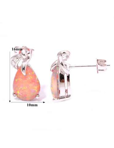 opal-zirconia-orange-large-stone-healing-jewelry-gemstone-earrings-details-white-background-hihoney-he022