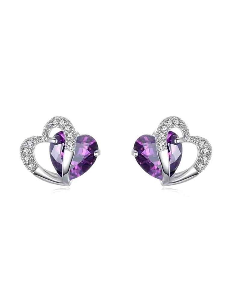 heart-shaped-purple-amethyst-earrings-healing-jewelry-gemstone-white-background-hihoney-he034