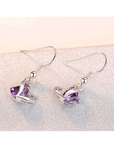 heart-shaped-purple-amethyst-earrings-healing-jewelry-gemstone-warm-background-hihoney-he037b