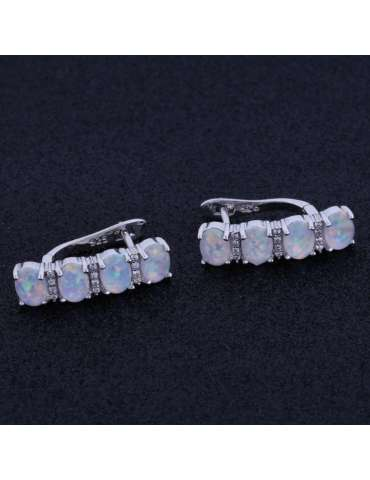 white-opal-earrings-healing-jewelry-gemstone-side-black-background-hihoney-he016
