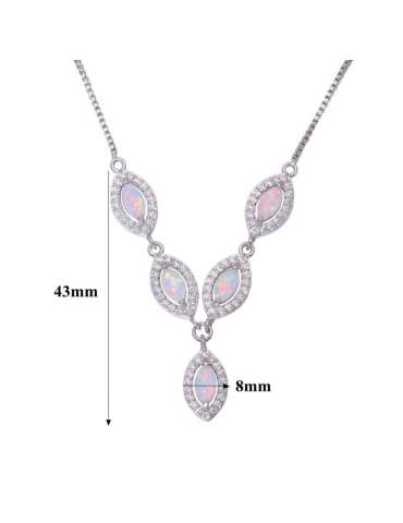 white-opal-silver-necklace-cubic-zirconias-gemstone-jewelry-birthstone-pendant-white-background-hihoney-hn038