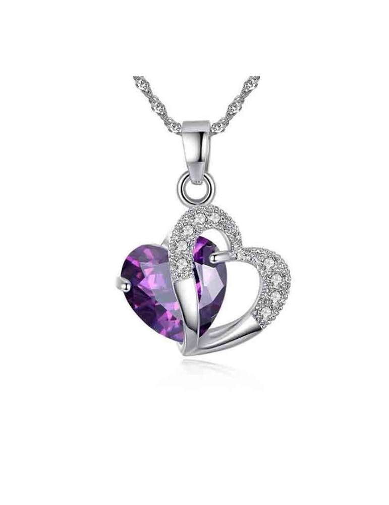lovely-purple-heart-amethyst-pendant-gemstone-jewelry-birthstone-white-background-hihoney-hn024