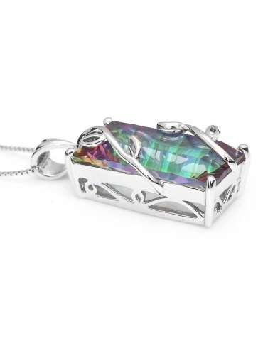 rainbow-topaz-silver-pendant-necklace-gemstone-jewelry-birthstone-white-background-01hihoney-hn011