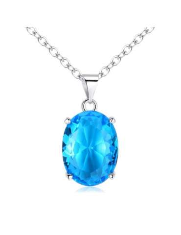 blue-cubic-zirconia-long-necklace-pendant-gemstone-jewelry-birthstone-white-background-hihoney-hn026