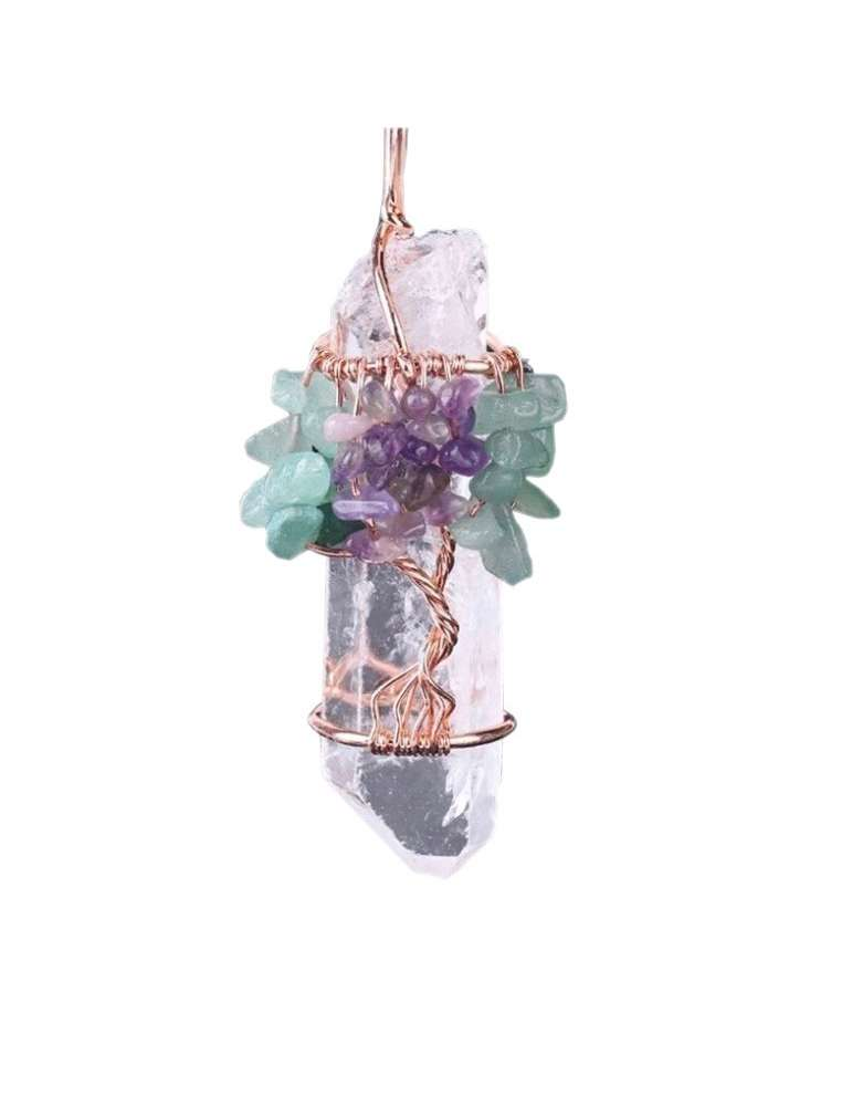 rose-gold-white-crystal-chakra-wire-wrapped-pendant-gemstone-jewelry-birthstone-white-background-02-hihoney-hn046c