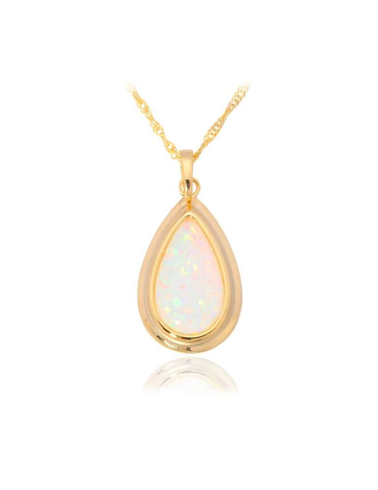 gold-plated-necklace-light-green-opal-gemstone-jewelry-birthstone-pendant-white-background-hihoney-hn031