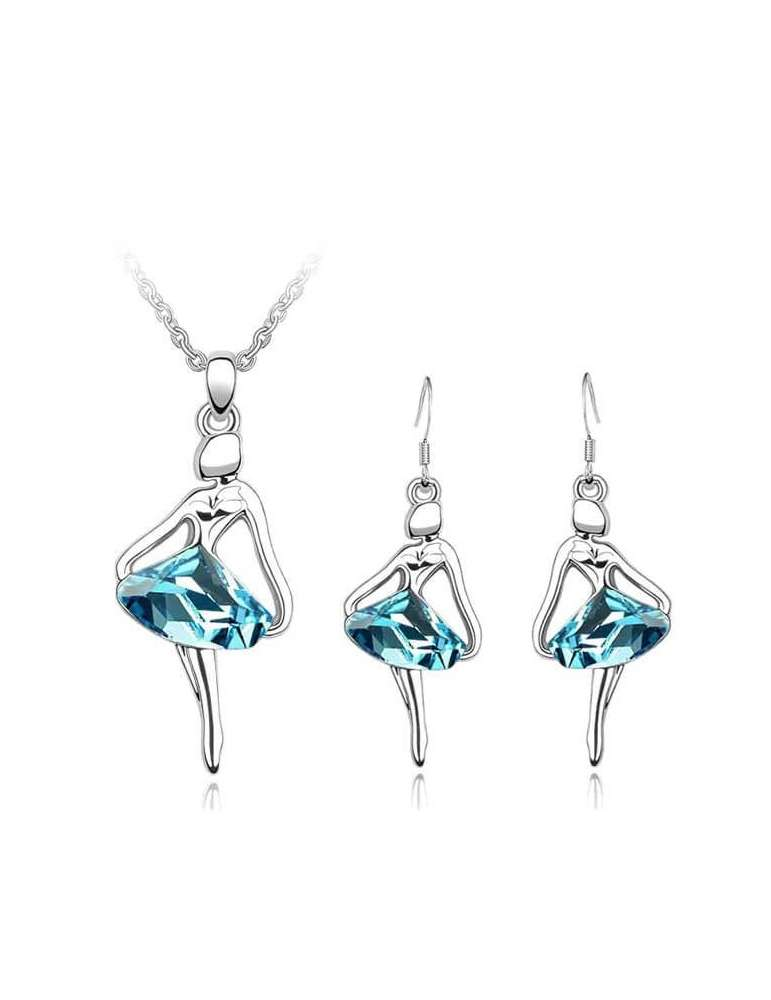 silver-ballerina-jewelry-set-blue-healing-necklace-pendant-earrings-white-background-hihoney-hs016
