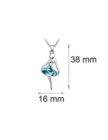 silver-ballerina-jewelry-set-blue-healing-necklace-pendant-deails-white-background-hihoney-hs016