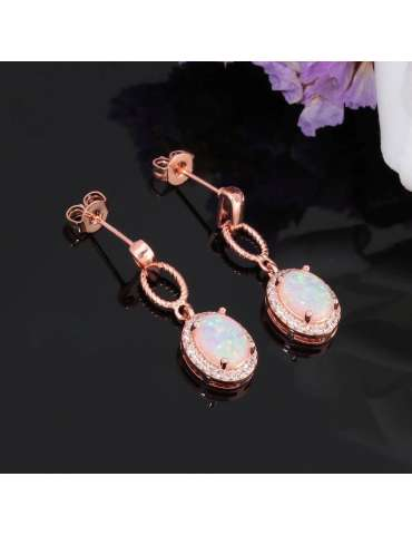 rose-gold-opal-jewelry-set-healing-earrings-black-background-hihoney-hs015