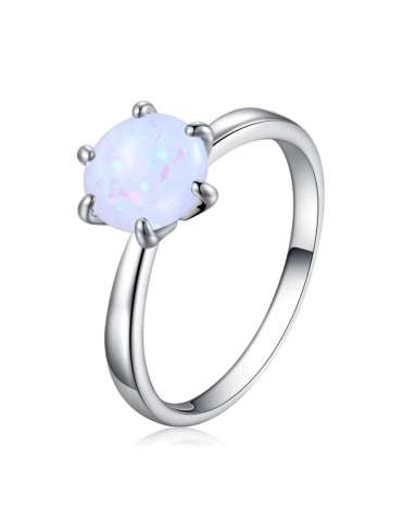 minimalist-white-opal-silver-jewelry-set-healing-ring-white-background-hihoney-hn010