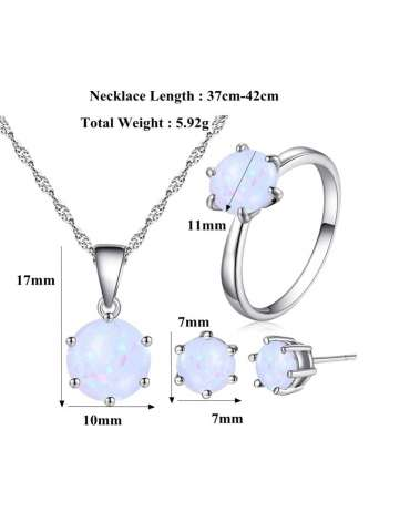 minimalist-white-opal-silver-jewelry-set-healing-necklace-pendant-earrings-details-white-background-hihoney-hn010