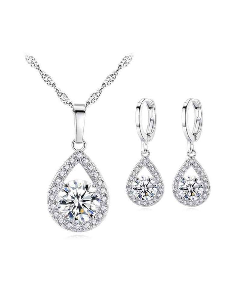 silver-jewelry-set-topaz-zirconias-healing-necklace-pendant-earrings-white-background-hihoney-hs013