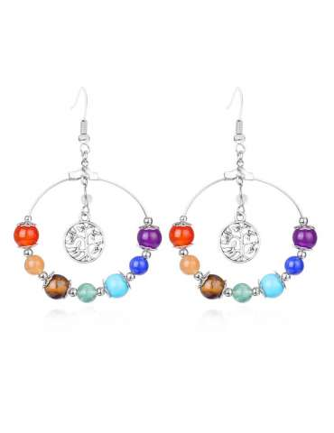 chakra-flower-jewelry-set-healing-earrings-white-background-hihoney-hs020