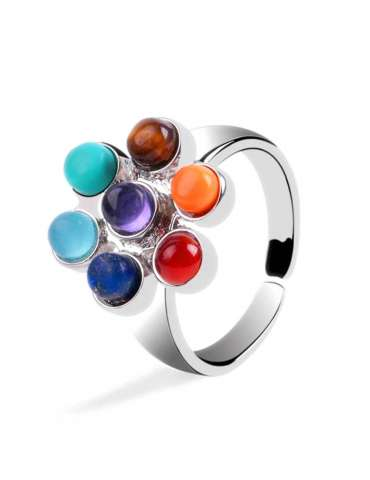 chakra-flower-jewelry-set-healing-ring-white-background-hihoney-hs020