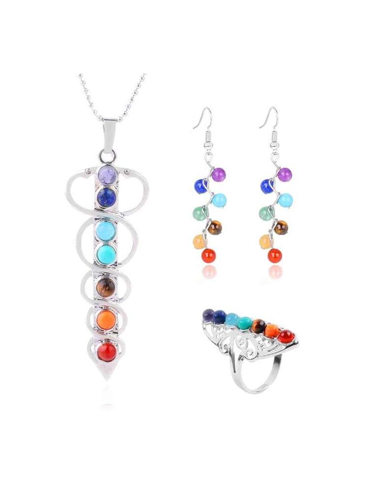 colors-of-chakra-jewelry-set-healing-necklace-pendant-earrings-ring-white-background-hihoney-hs021