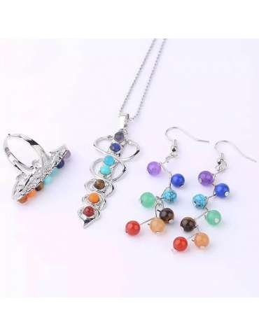 colors-of-chakra-jewelry-set-healing-necklace-pendant-earrings-ring-grey-background-hihoney-hs021