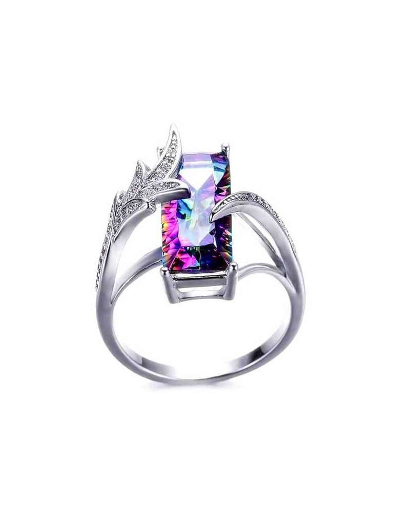 mystic-topaz-ring-rainbow-chakra-gemstone-jewelry-white-background-hihoney-hr010