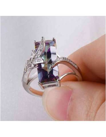 mystic-topaz-ring-rainbow-chakra-gemstone-jewelry-fingers-holding-hihoney-hr010
