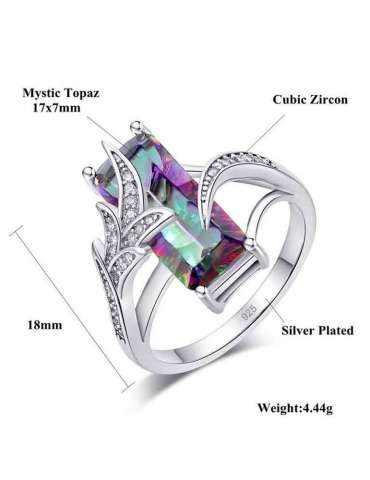 mystic-topaz-ring-rainbow-chakra-gemstone-jewelry-white-background-details-hihoney-hr010