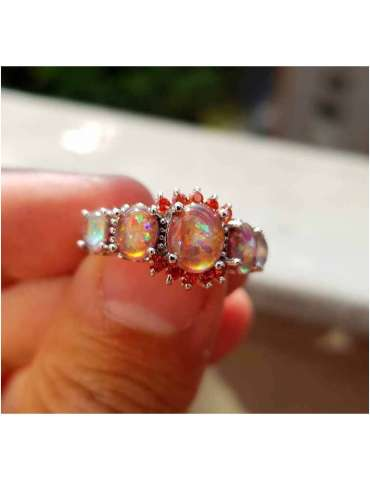fire-opal-ring-orange-gemstone-jewelry-fingers-holding-hihoney-hr011