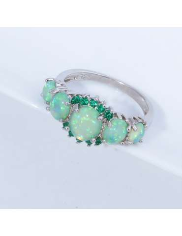 white-green-opal-emerald-ring-gemstone-jewelry-grey-background-hihoney-hr013
