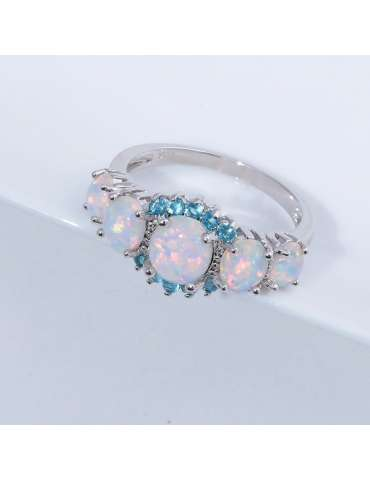 white-opal-blue-aquamarine-ring-gemstone-jewelry-grey-background-hihoney-hr014