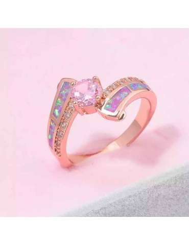 rose-gold-plated-ring-purple-opal-topaz-ring-gemstone-jewelry-pink-background-hihoney-hr022
