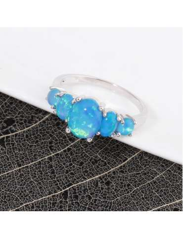 fire-blue-opal-silver-ring-gemstone-jewelry-black-white-background-hihoney-hr019