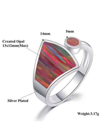 rainbow-fire-opal-sterling-silver-ring-gemstone-jewelry-white-background-details-hihoney-hr035