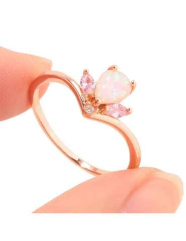 rose-gold-ring-white-opal-silver-gemstone-jewelry-fingers-holding-ring-on-white-background-hihoney-hr024