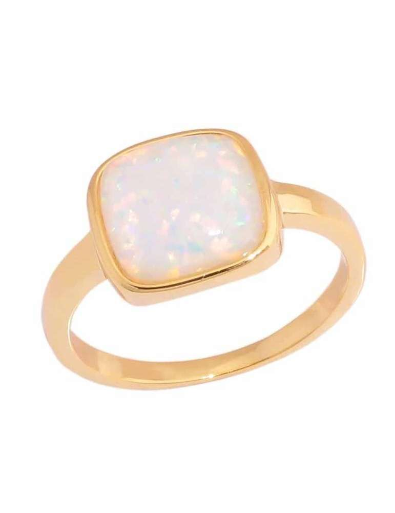 gold-plated-white-opal-silver-healing-ring-gemstone-jewelry-white-background-hihoney-hr025