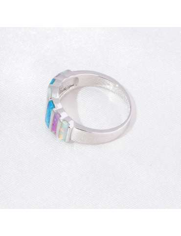 colorful-opal-ring-white-blue-pink-silver-healing-ring-gemstone-jewelry-grey-background-side-hihoney-hr042