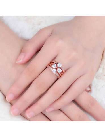 lucky-rose-gold-plated-ring-white-topaz-zirconia-sterling-silver-healing-ring-gemstone-jewelry-woman-crossed-hands-hihoney-hr026