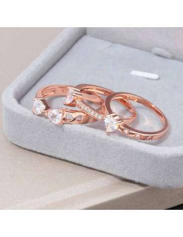 lucky-rose-gold-plated-ring-white-topaz-sterling-silver-healing-ring-gemstone-jewelry-multiple-rings-in-box-hihoney-hr026
