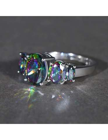 rainbow-mystic-topaz-silver-chakra-healing-ring-gemstone-jewelry-black-shiny-background-hihoney-hr037