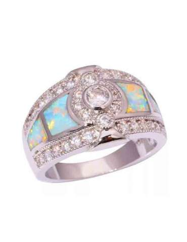 light-green-opal-white-topaz-silver-healing-ring-gemstone-jewelry-white-background-hihoney-hr044