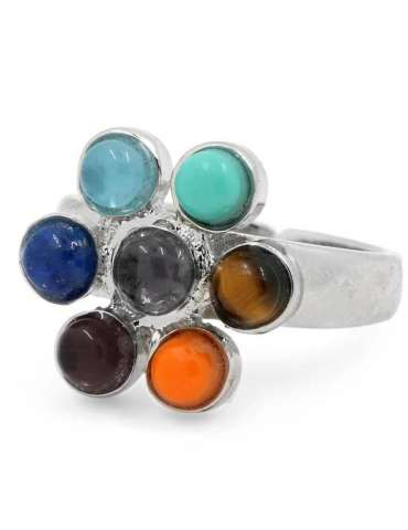 flower-shape-healing-ring-gemstone-jewelry-white-background-front-hihoney-hr048