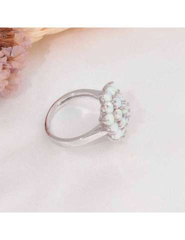 flower-shaped-ring-fire-opal-large-white-silver-healing-ring-gemstone-jewelry-grey-background-side-hihoney-hr055