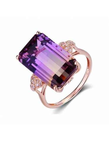 gorgeous-rose-gold-chakra-purple-topaz-silver-healing-ring-gemstone-jewelry-white-background-hihoney-hr061
