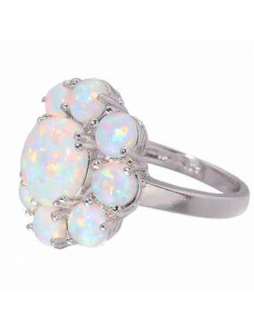 flower-shaped-white-opal-silver-healing-ring-gemstone-jewelry-white-background-side-hihoney-hr067