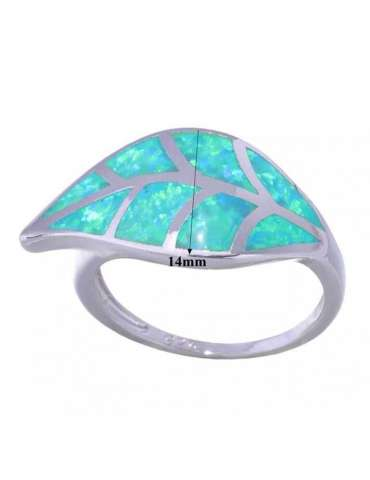 leaf-shaped-nature-green-opal-silver-healing-ring-gemstone-jewelry-white-background-hihoney-hr067