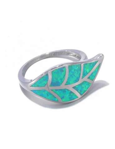 leaf-shaped-nature-green-opal-silver-healing-ring-gemstone-jewelry-white-background-side02-hihoney-hr067