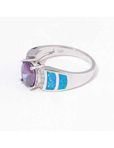 blue-opal-purple-amethyst-silver-healing-ring-gemstone-jewelry-white-background-side-hihoney-hr069