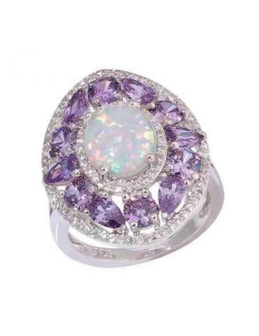 purple-amethyst-white-opal-zirconia-silver-healing-ring-gemstone-jewelry-white-background-hihoney-hr070