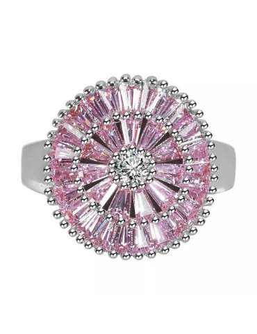 pink-rose-purple-zirconia-healing-silver-ring-gemstone-jewelry-white-background-front-hihoney-hr077