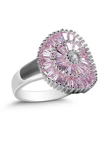 pink-rose-purple-zirconia-healing-silver-ring-gemstone-jewelry-white-background-side-hihoney-hr077
